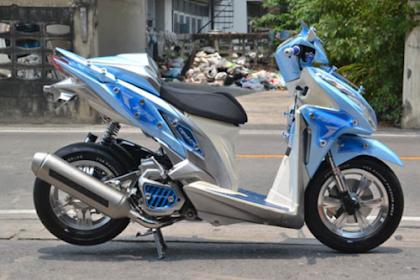 2019+ Ide Modifikasi Motor Honda Vario 125 FI Paling Keren dan Terbaru
