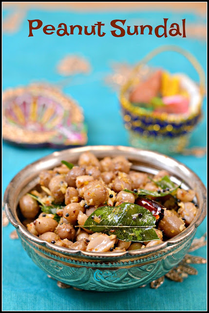 Peanut Sundal(Verkadalai Sundal)