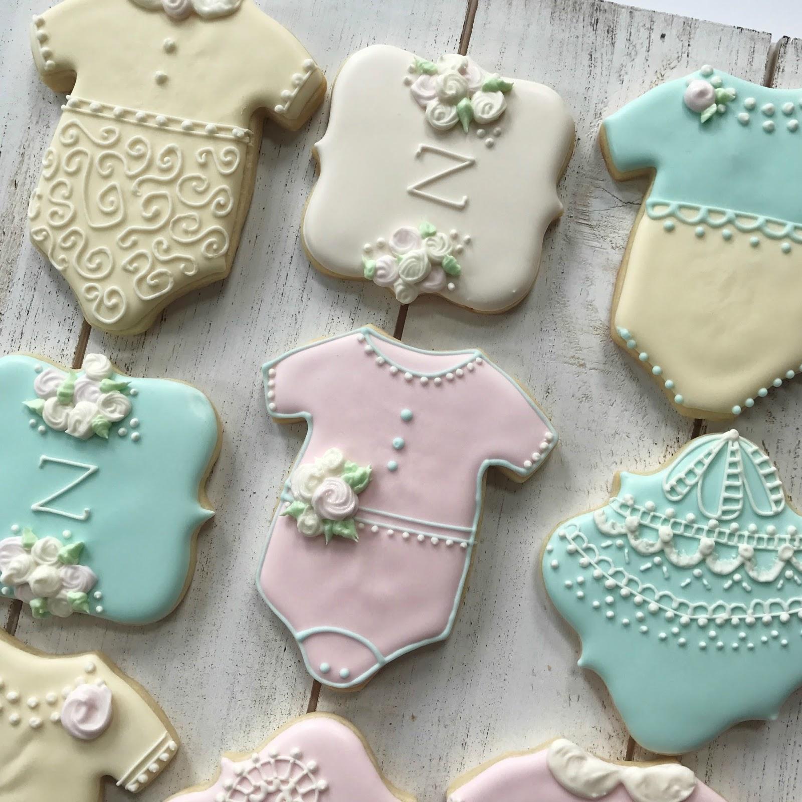 Sweet Baby Onesie Cookie Tutorial | Sweet Jenny Belle - easy ...