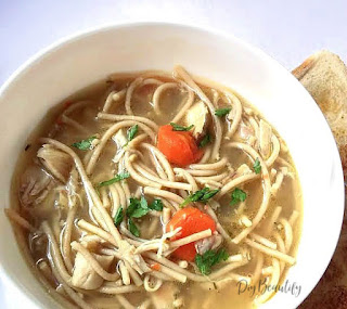 rotisserie chicken noodle soup