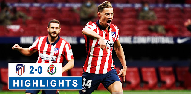 Atlético Madrid vs Real Valladolid – Highlights