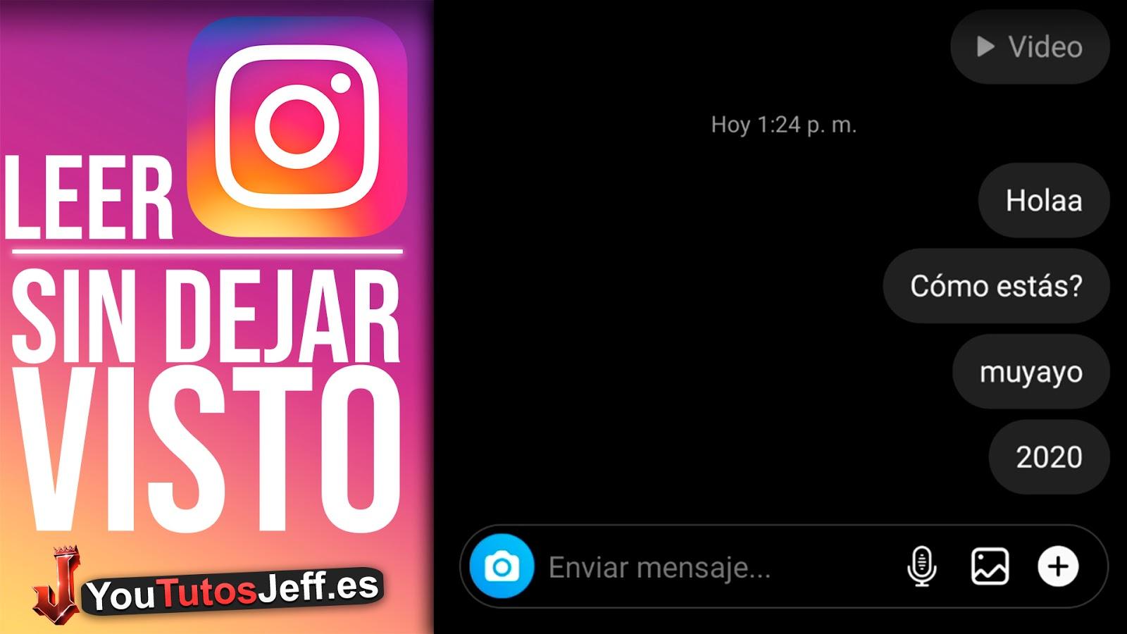 Como LEER MENSAJES de Instagram SIN DEJAR EL VISTO 2021