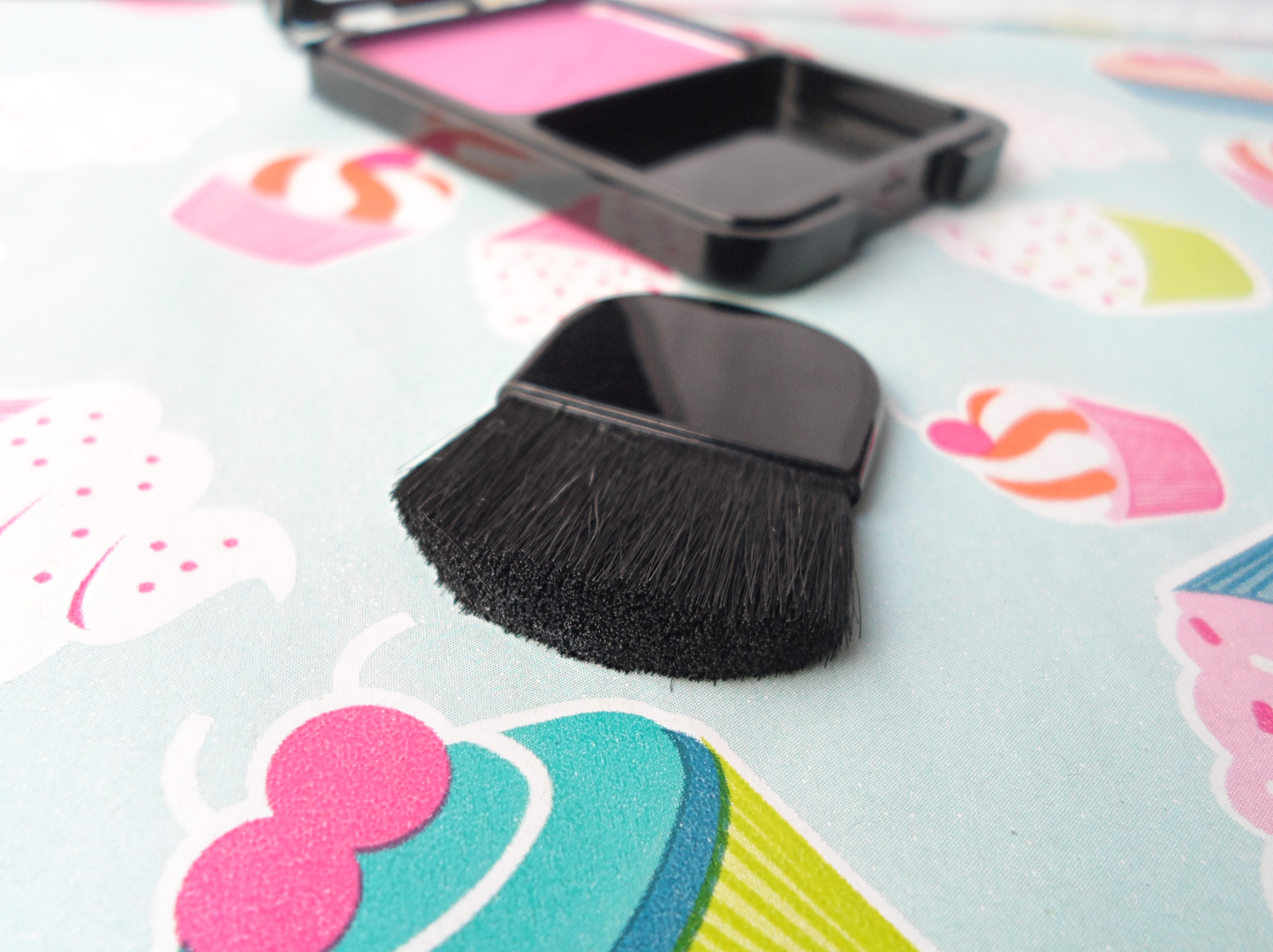 Beauty UK blush brush review pictures Beauty UK Blush & Brush Review and Swatches liz breygel january girl