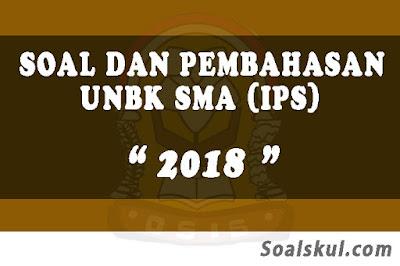 Download Soal dan Pembahasan UNBK SMA 2018 (IPS)