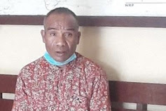 Mengaku Sebagai Pegawai Dinas Perkebunan Matim, Pria Asal Wukir Nyaris Dihajar Massa Karena Menipu Seorang Ibu di Pasar Ruteng