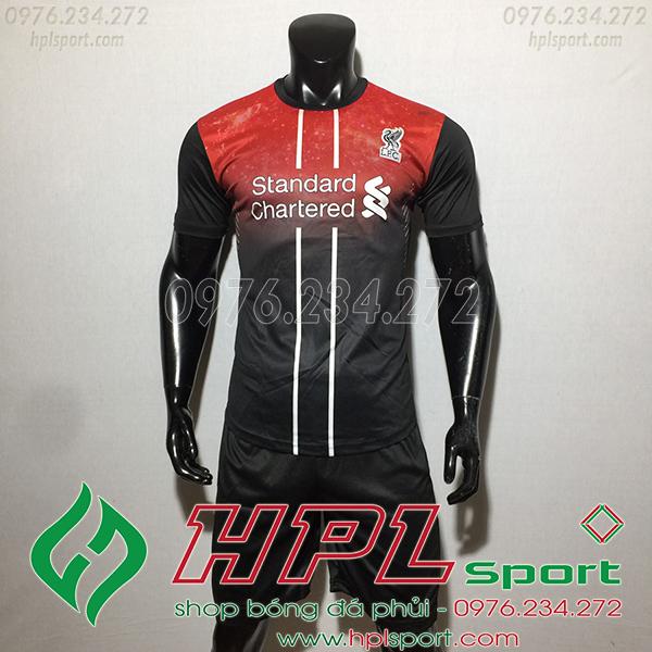 Áo CLB Liverpool training màu đên 2020