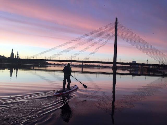 Vansu bridge Riga