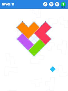 Bloques app puzzle rompecabezas piezas lógica