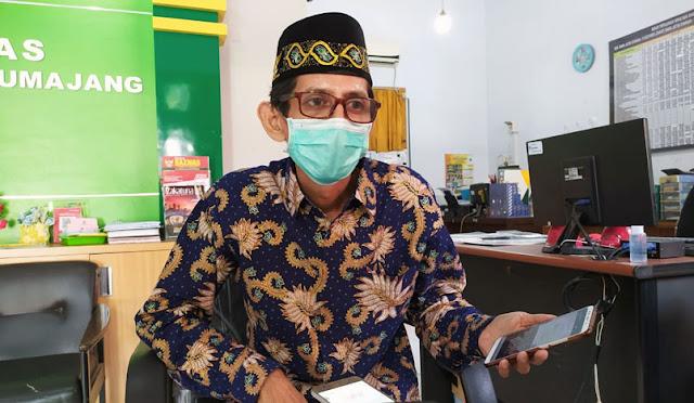 Ketua Baznas Lumajang, H. Atok Hasan Sanusi