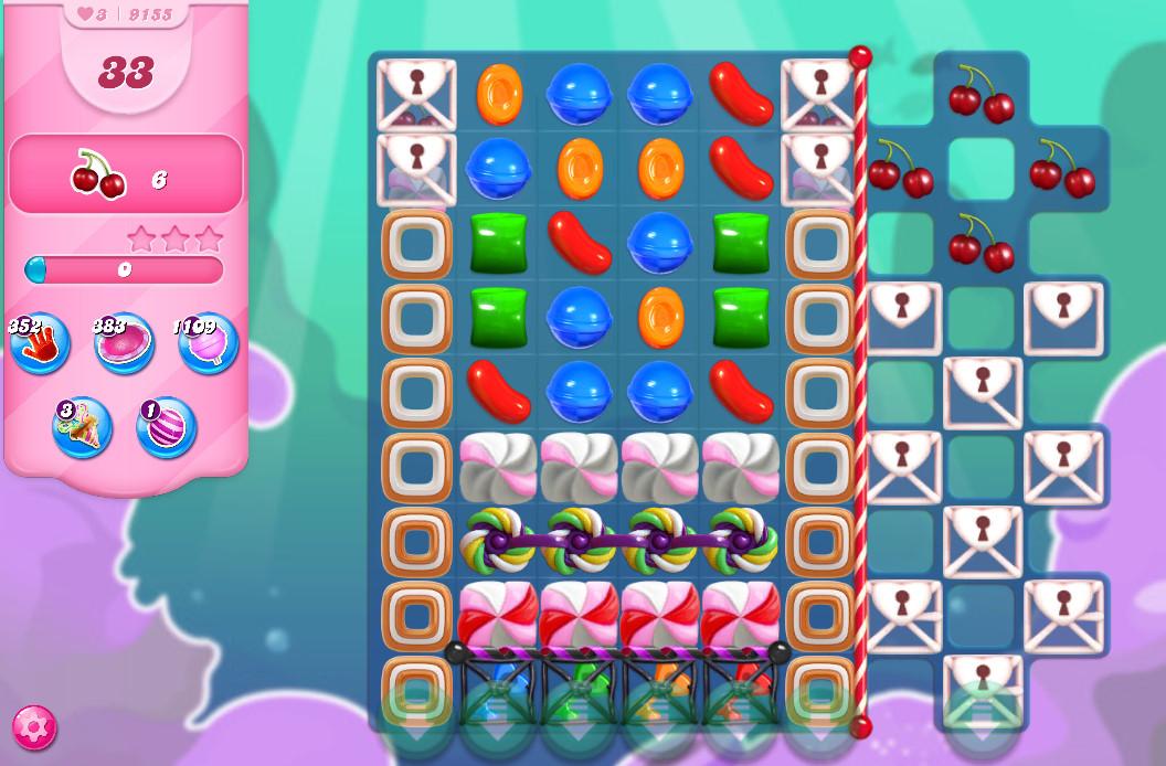 Candy Crush Saga level 9155