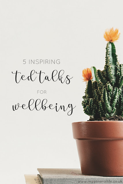 Hands up who loves a TED Talk? Here I'm sharing 5 inspiring TED Talks on the topic of wellbeing. Click to read more!