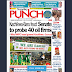 NAIJA NEWSPAPERS: TODAY'S THE PUNCH NEWSPAPER HEADLINES [8TH OCTOBER, 2017].