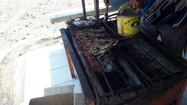 Jasa Bakar Ikan di TPI Sidodadi Juanda