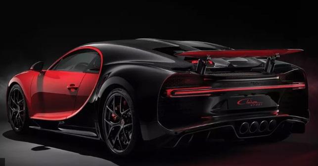 Bugatti Chiron olahraga: $3.260.000