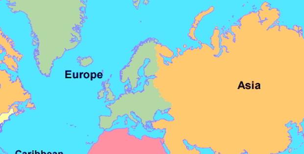 Letak dan Batas Wilayah Benua Eropa
