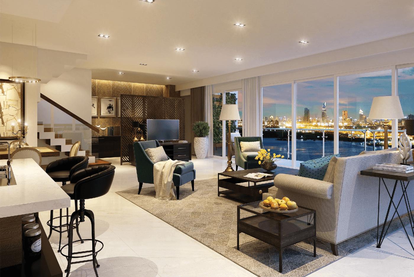 bán căn hộ tháp brilliant dự án đảo kim cương