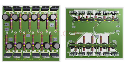 Boost Final transitor power amplifier circuit