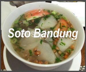 Resep Soto Bandung enak