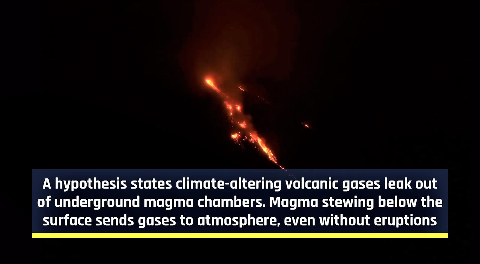 Dinosaurs Extinction volcanoes to blame 2.