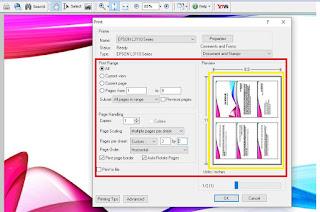 Print PPT 6 Slide Full Kertas