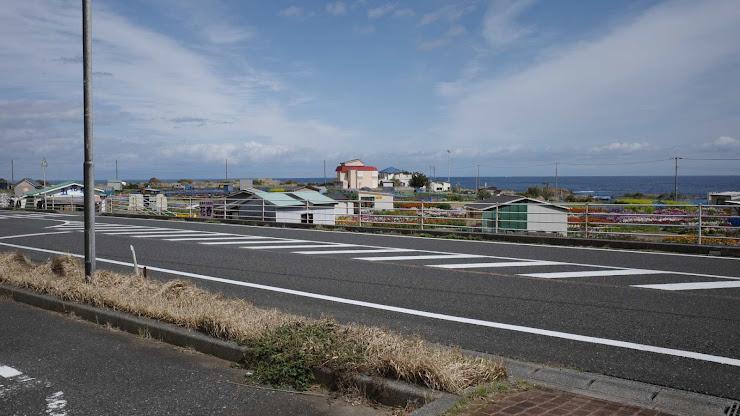 千倉の海岸道路