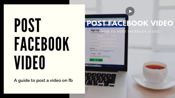 Post Facebook Video<br/>