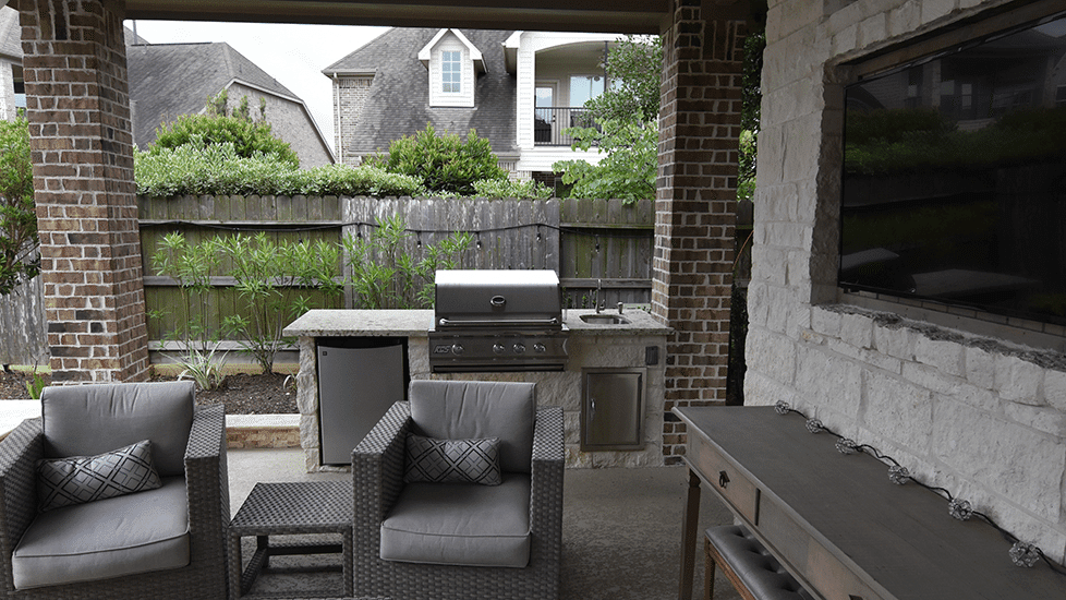 Custom Outdoor Patio Construction DFW 19