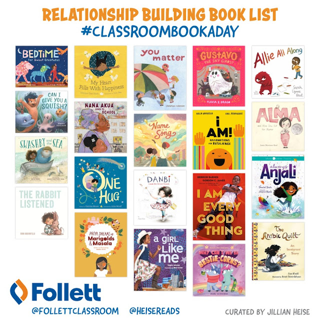 #ClassroomBookADay Recommendations: Relationship Building at the Start of the Year