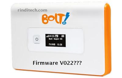 Modem Bolt Tidak bisa di Unlock karena Firmware V022? Mungkin Ini Jalan Terakhirnya