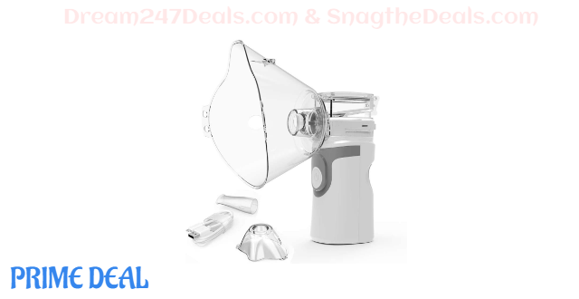Portable Mesh Atomizer Machine Nebulizer 40% OFF