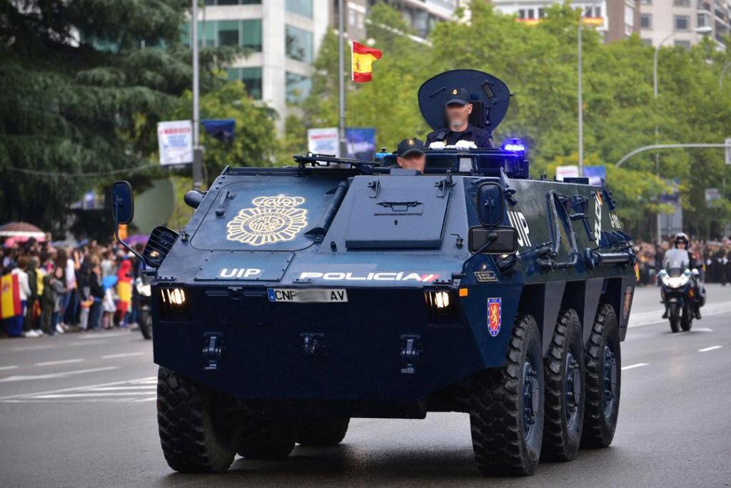 2017 PEGASO BMR 600 POLICIA NACIONAL de ESPAÑA - Escala 1//43 TANQUETA UIP