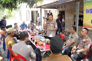 Kombur-Kombur di Desa Mahir, Ucap Kapolres, Kita Buat Para Penjahat Takut Tinggal Disini