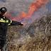 Πυρκαγιές σε εξέλιξη σε Μέγαρα και Μαρκόπουλο Για την κατάσβεσή τους επιχειρούν ισχυρές δυνάμεις της πυροσβεστικής
