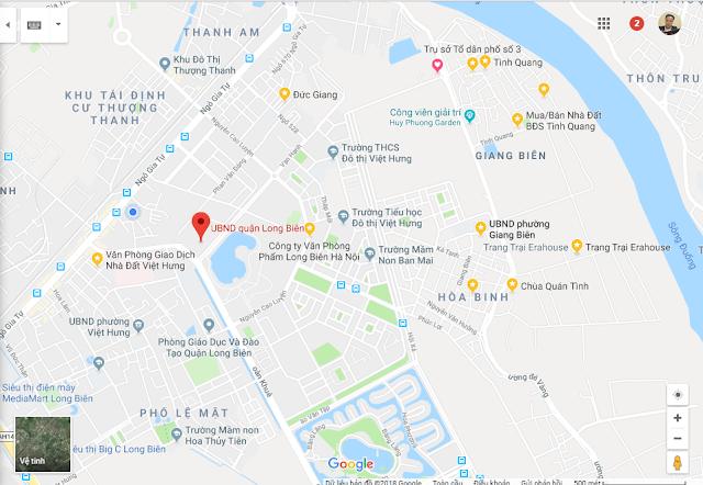Đất Gần UBND Quận Long Biên