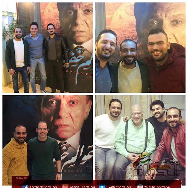 """"""" محمد محرز"""" العمل مع الزعيم طموح وحلم من أحلامنا  احترمنا عقل الجمهور فاحترم ماقدمناه لهم"""