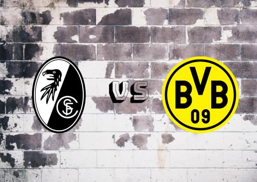 Freiburg vs Borussia Dortmund  Resumen y Partido Completo