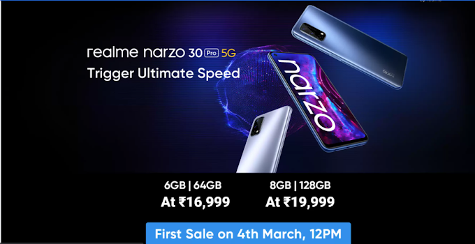 Realme Narzo 30 Pro 5G first impressions   India's Most Affordable 5G phone with 120 Hz refresh rate display