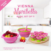 Dusdusan Vienna Maribella Bowl Set of 11 ANDHIMIND