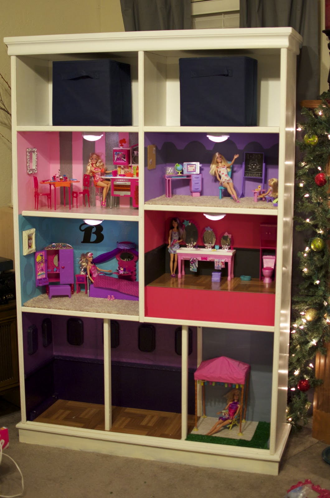Sharayah Hannah S Barbie House