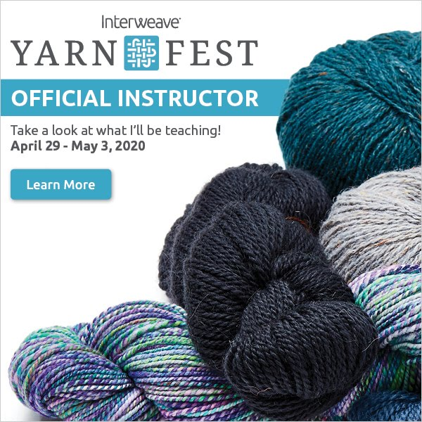 I'M TEACHING AT YARN FEST!