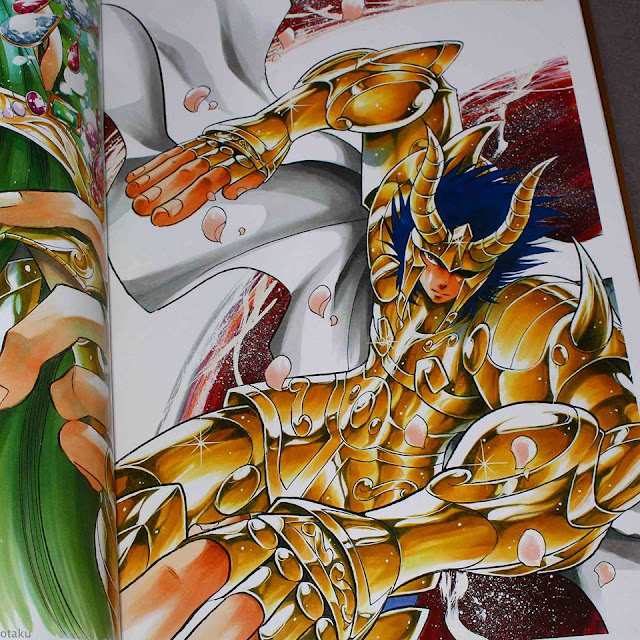 Café com Pipoca - Artbook de Saint Seiya - The Lost Canvas 03
