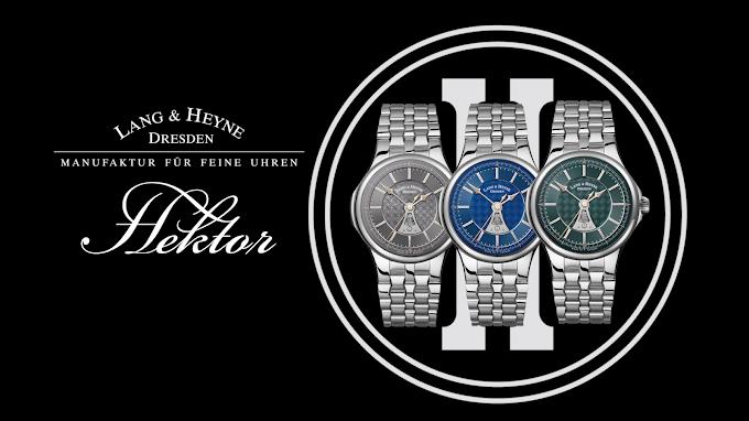 Lang & Heyne 工房設立20周年に合わせて、最新作 HEKTOR(ヘクトール)を発表