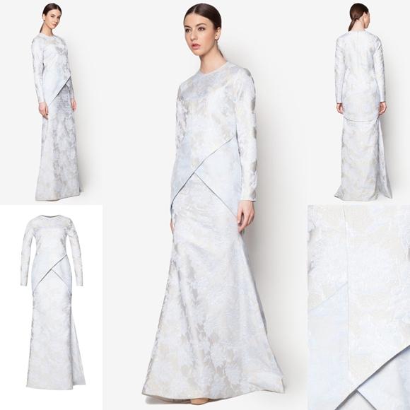 Fesyen Trend Terkini Bianco Mimosa Axiom Baju Kurung Moden Baju Raya 2017