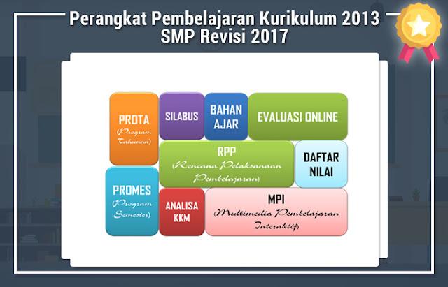 Perangkat Pembelajaran Kurikulum 2013 SMP Revisi 2017