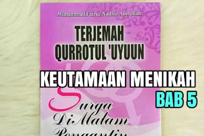 TERJEMAH KITAB QURROTUL UYUN BAB 5