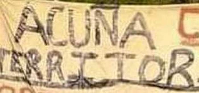 Sicarios del Cártel del Noreste anuncian en mantitas que Acuña; Coahuila es su territorio pero hace unos días corrieron