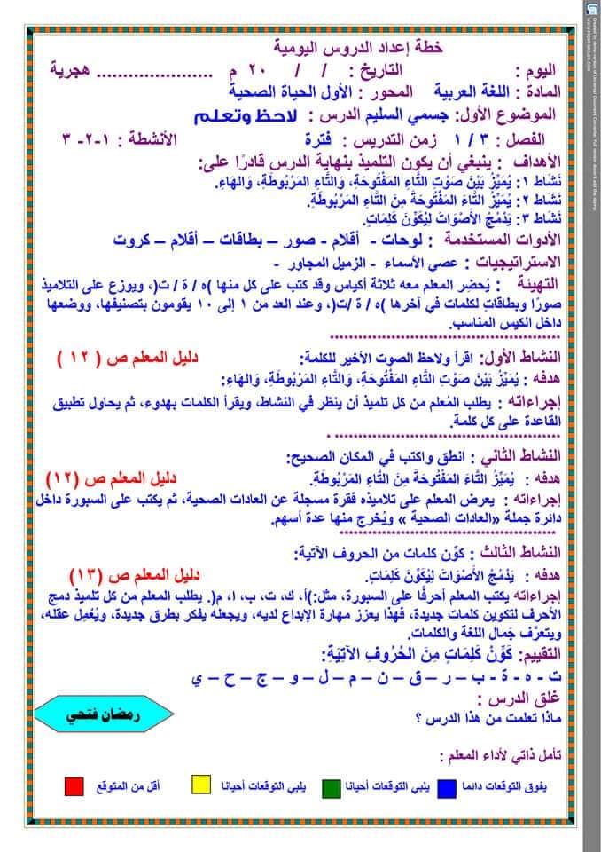 تحضير دروس نافذة اللغة العربية للصف الثالث الابتدائي  أ / رمضان فتحي 17