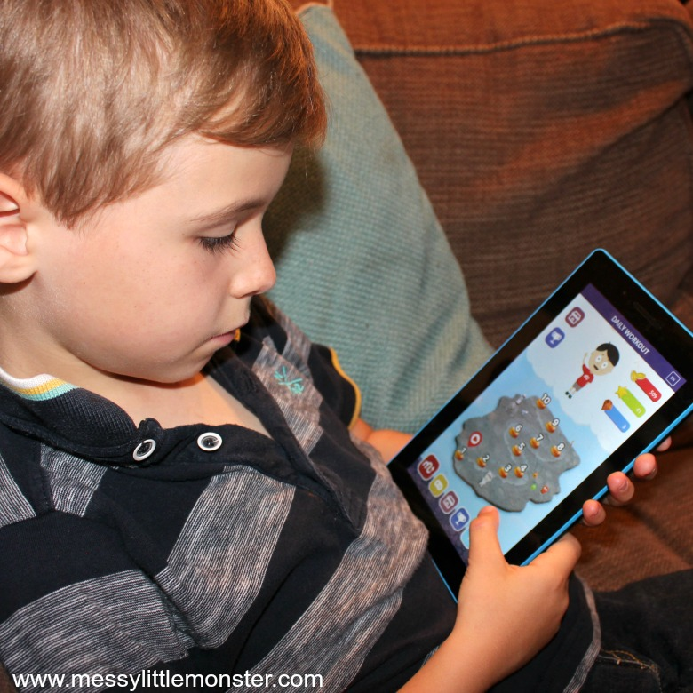 MentalUP Brain Training App Review  - brain games for kids