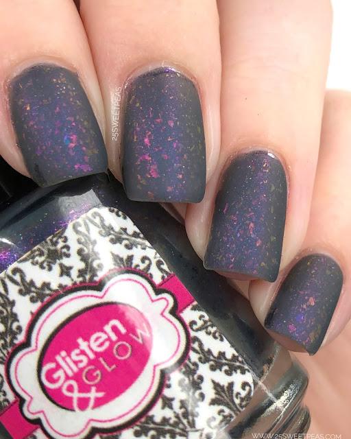 Glisten & Glow Mystery Polish February Polish 25 Sweetpeas