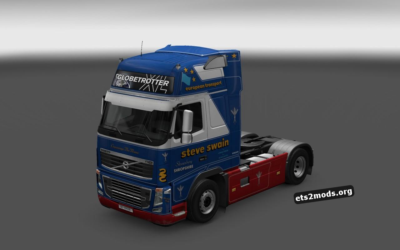 Volvo 2009 Steve Swain Skin